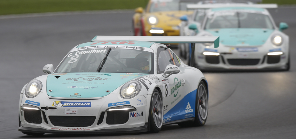 Porsche Carrera Cup 7. race Lausitzring (GER)