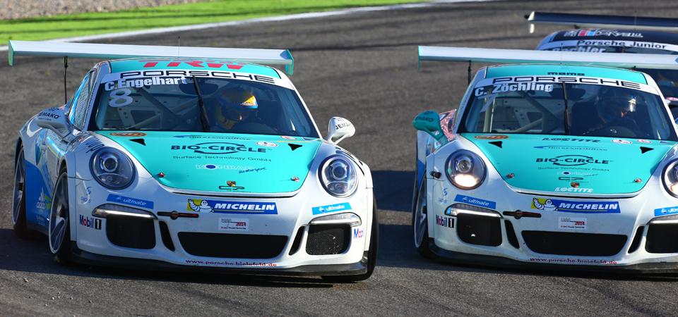 Porsche Carrera Cup, 17. + 18. Lauf Hockenheimring 2014 - Foto: Sören Herweg